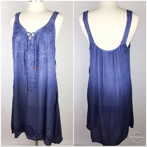 Raya Sun Summer Dress Cover Up Size M NWT